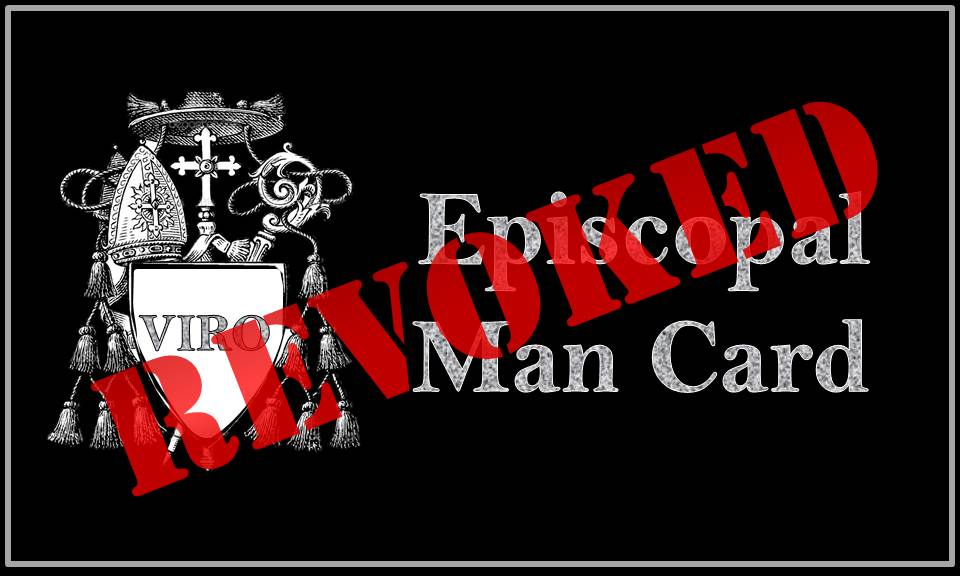 Episcopal Man Card