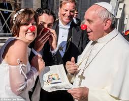 Pope red nose
