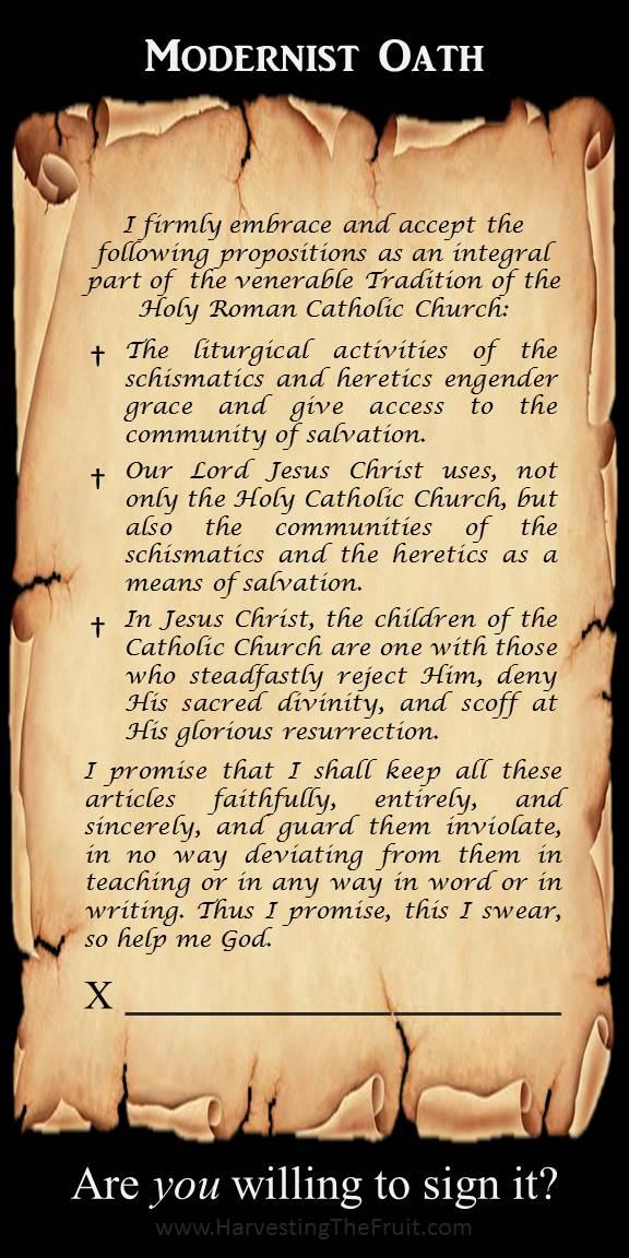 Modernist Oath