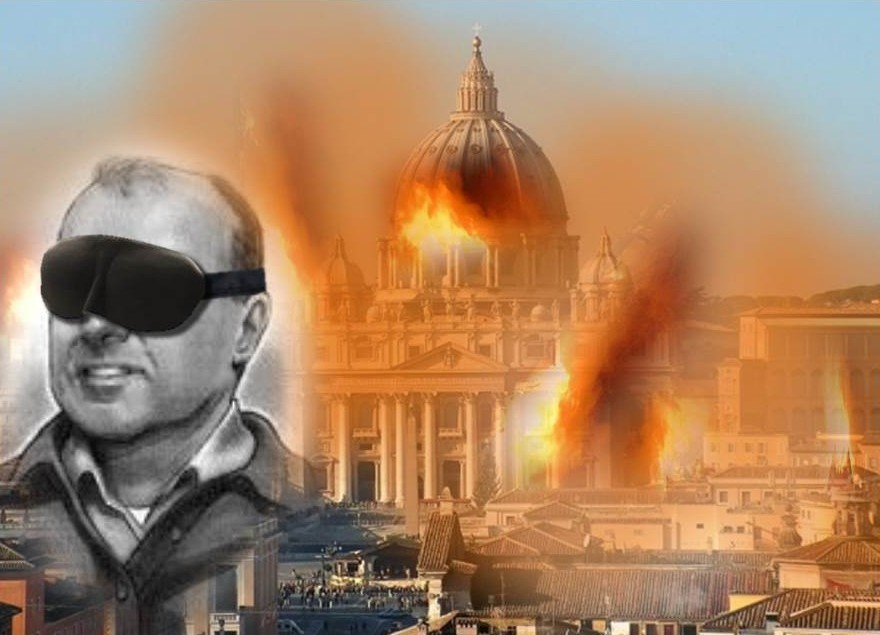 Conservative Catholic Blindfold