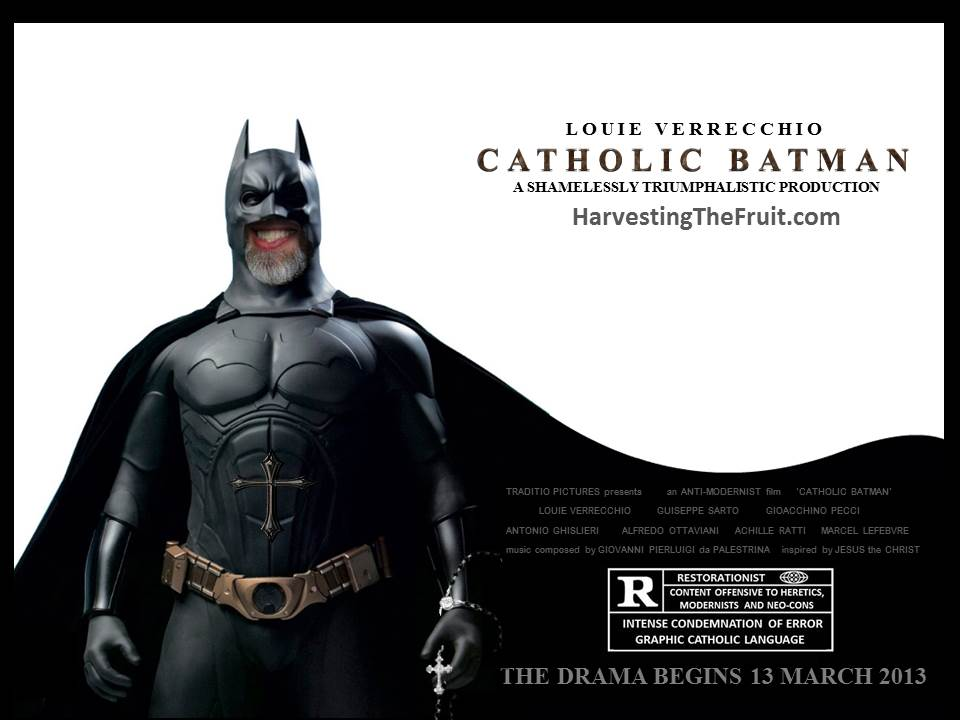 Catholic Batman