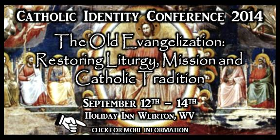 Catholic Identity Conference Banner