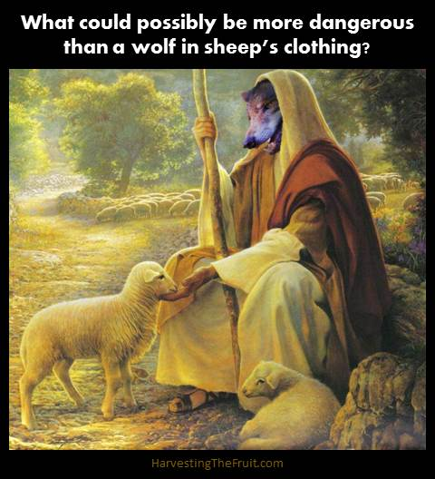 Shepherd in sheep's clothing