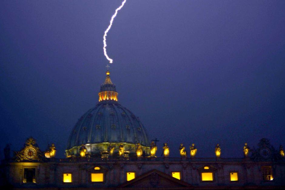 Vatican Lightning
