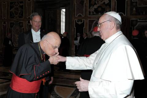 Pope Francis Meets With The Full College of Cardinals