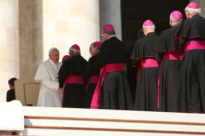 Francis at Synod