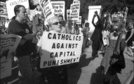 Catholics against death penalty