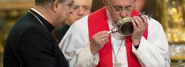 Pope Francis San Gennaro
