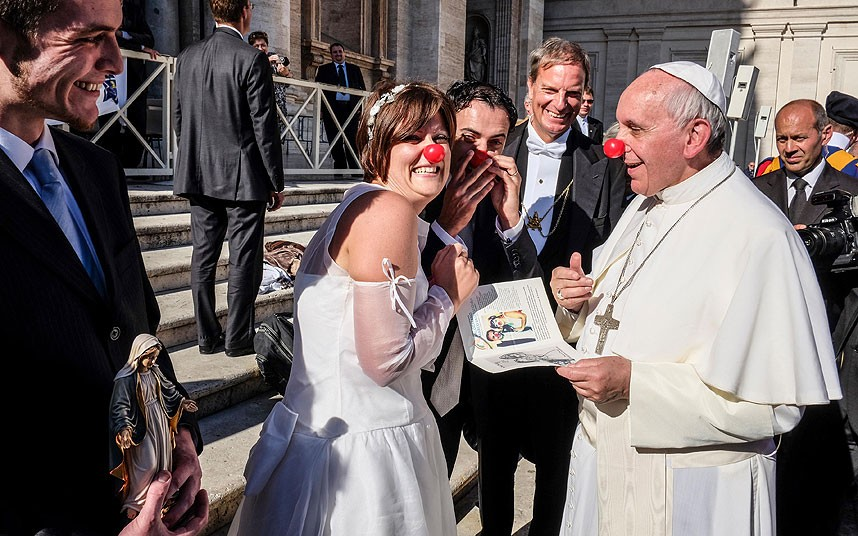 Pope Francis Clown