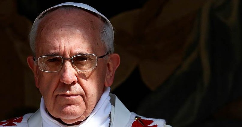 Pope Francis mean face 2