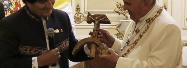 Hammer Sickle Crucifix