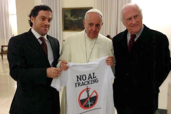 Pope No Fracking