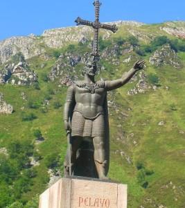 Don Pelayo en Covadonga (2)