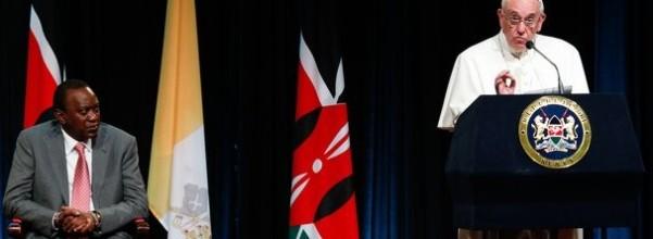 Francis UN Nairobi