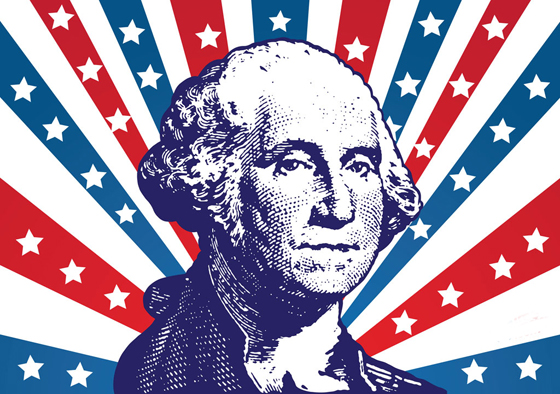 FreeVector-President-Washington