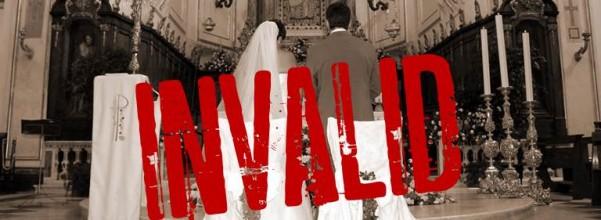Invalid marriage