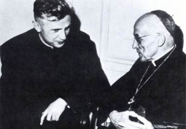 Ratzinger at Council w Frings