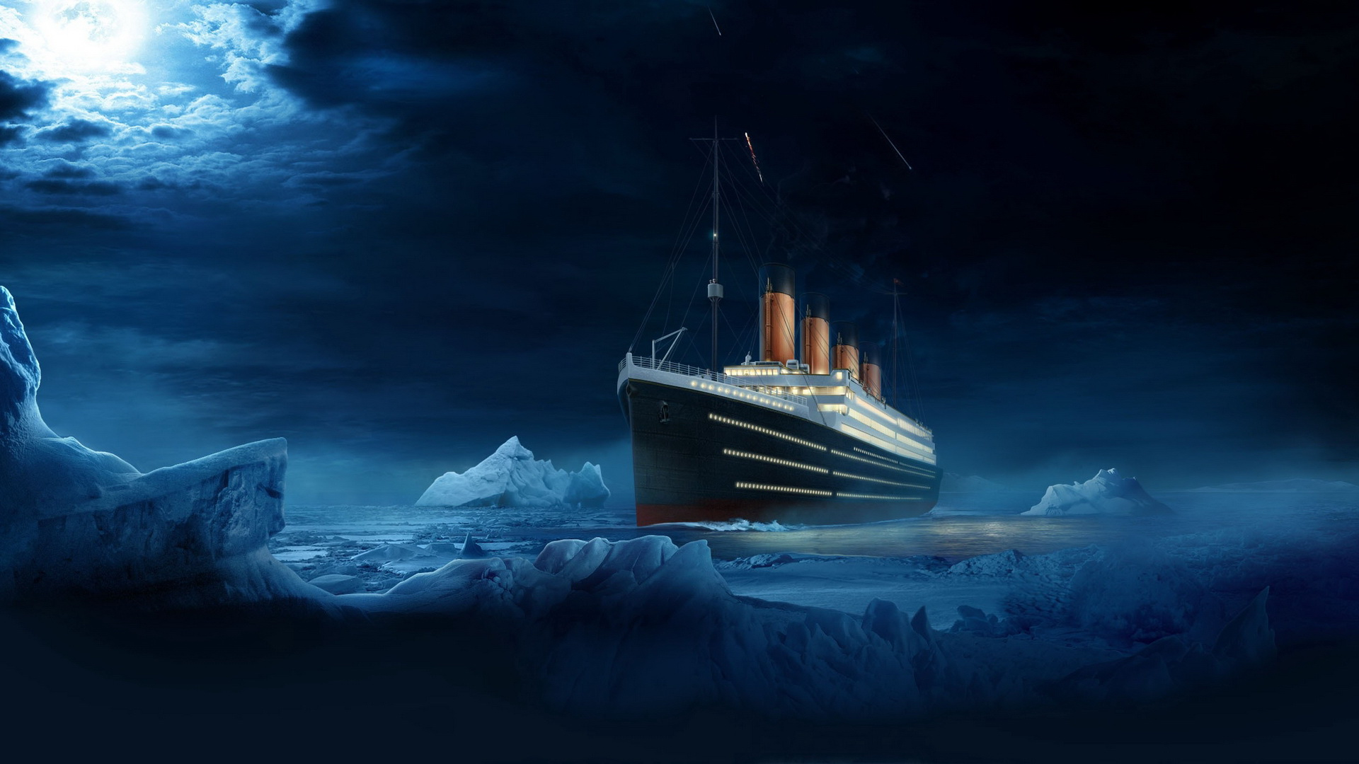 looking towards the east u2026 aboard the titanic sailing west u2026 aka