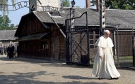 Francis at Auschwitz