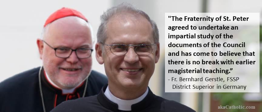 Fr. Bernhard Gerstle, FSSP