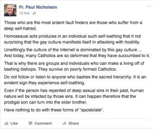 Nicholson Facebook
