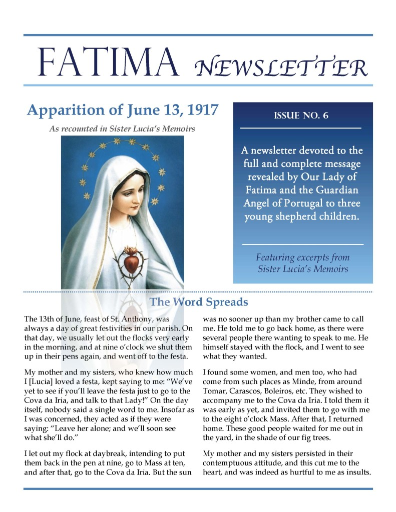 Fatima Newsletter_Issue 6_June 2019_Page_1