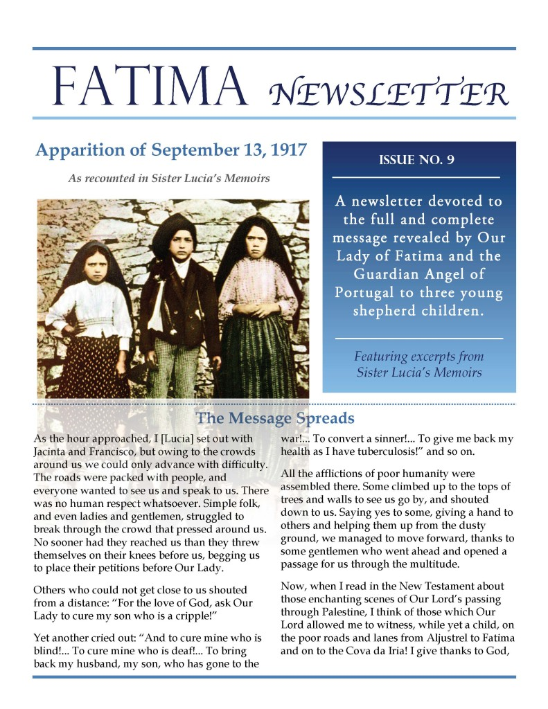Fatima Newsletter_Issue 9_September 2019_Page_1