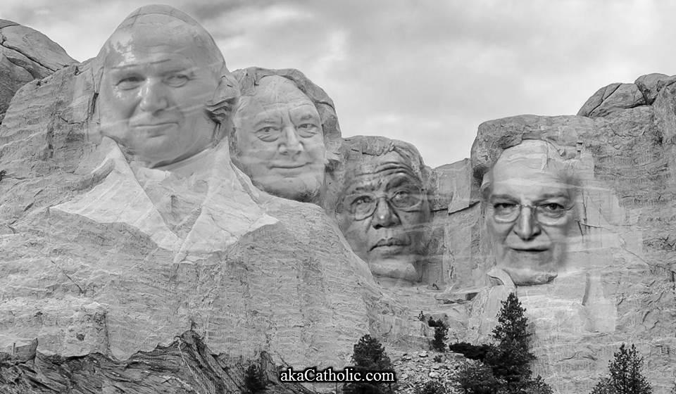 Neo-con Mt Rushmore