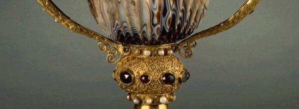 French 12th Century (cup Alexandrian 2nd/1st Century B.C.), Chalice of the Abbot Suger of Saint-Denis, 2nd/1st century B.C. (cup); 1137-1140 (mounting), Widener Collection, National Gallery of Art, Washington