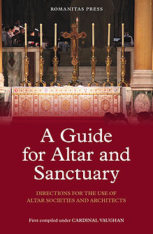 Guide for Altar and Sanctuary