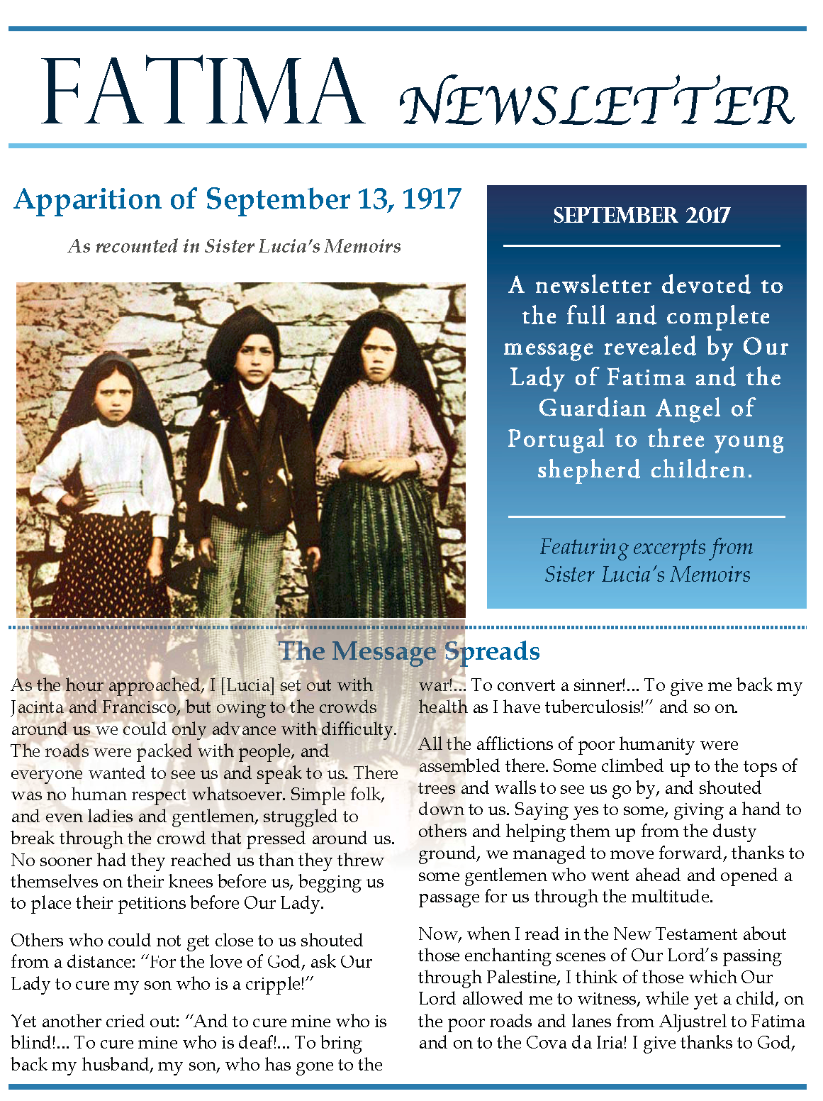 Fatima Newsletter_September 2017-2_Page_1