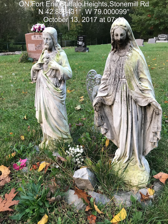 Fr. Gruner's Gravesite - October 13, 2017