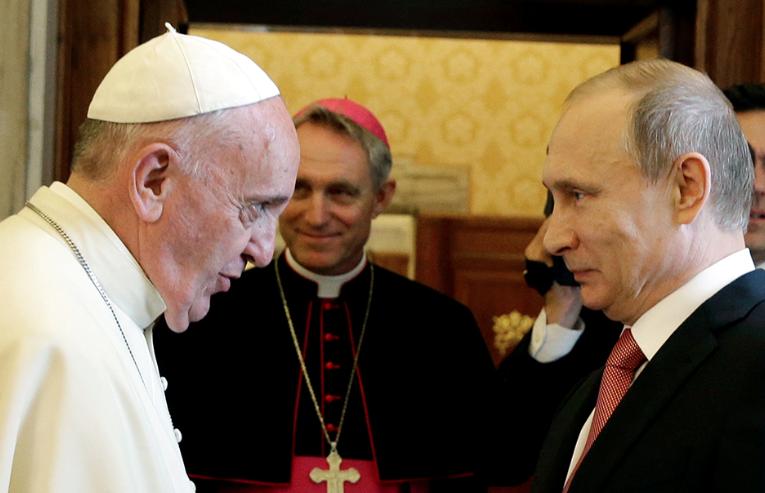 Francis - Putin