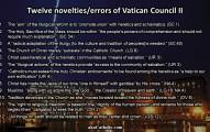 12 Novelties Vatican II