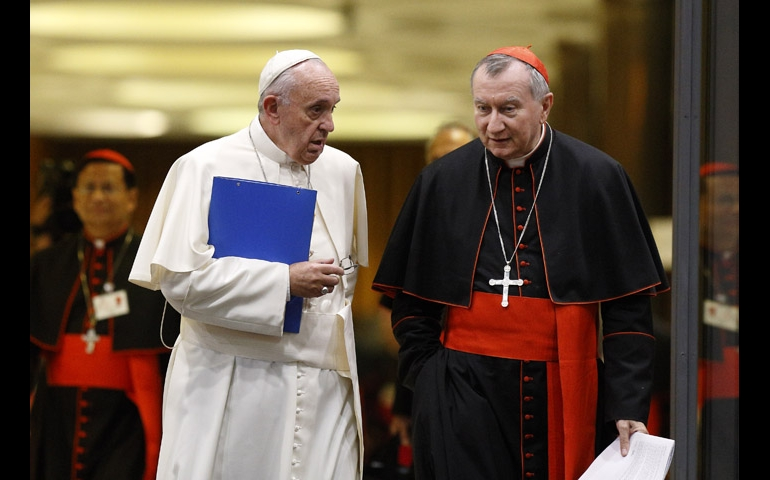 Bergoglio and Parolin