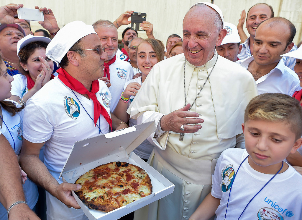 Francis Pizza Party