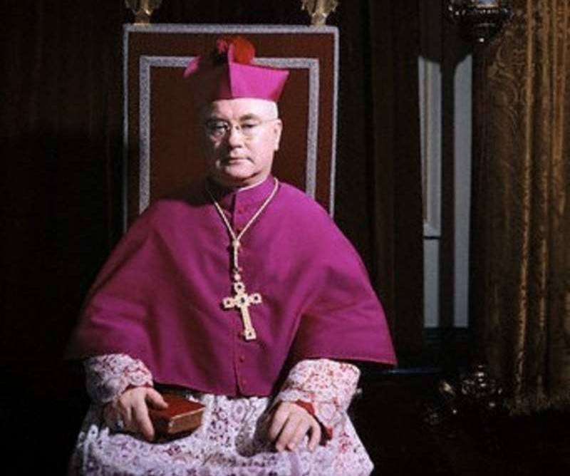 """Kingmaker,"" Cardinal Francis Spellman, who ordained and/or consecrated many clerics among the sodomite ranks"