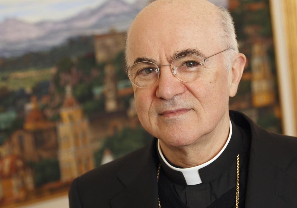 FILE ARCHBISHOP VIGANO