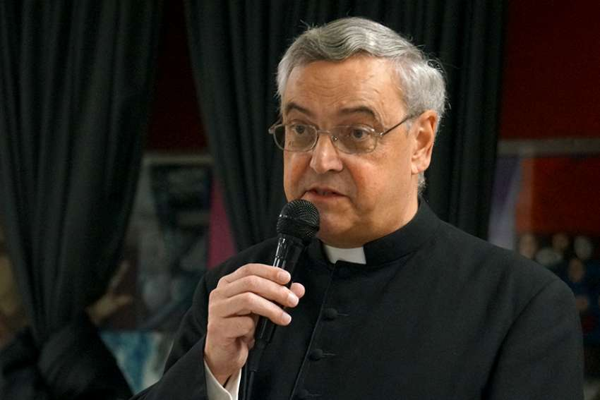 Fr. Joseph Brisig, FSSP, Rector of Our Lady of Guadalupe Seminary Priestly Fraternity