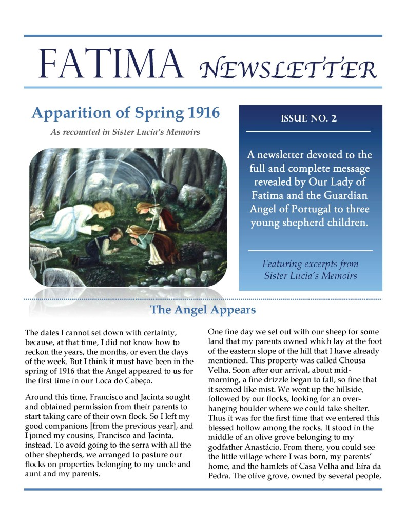 Fatima Newsletter February 2019_Page_1