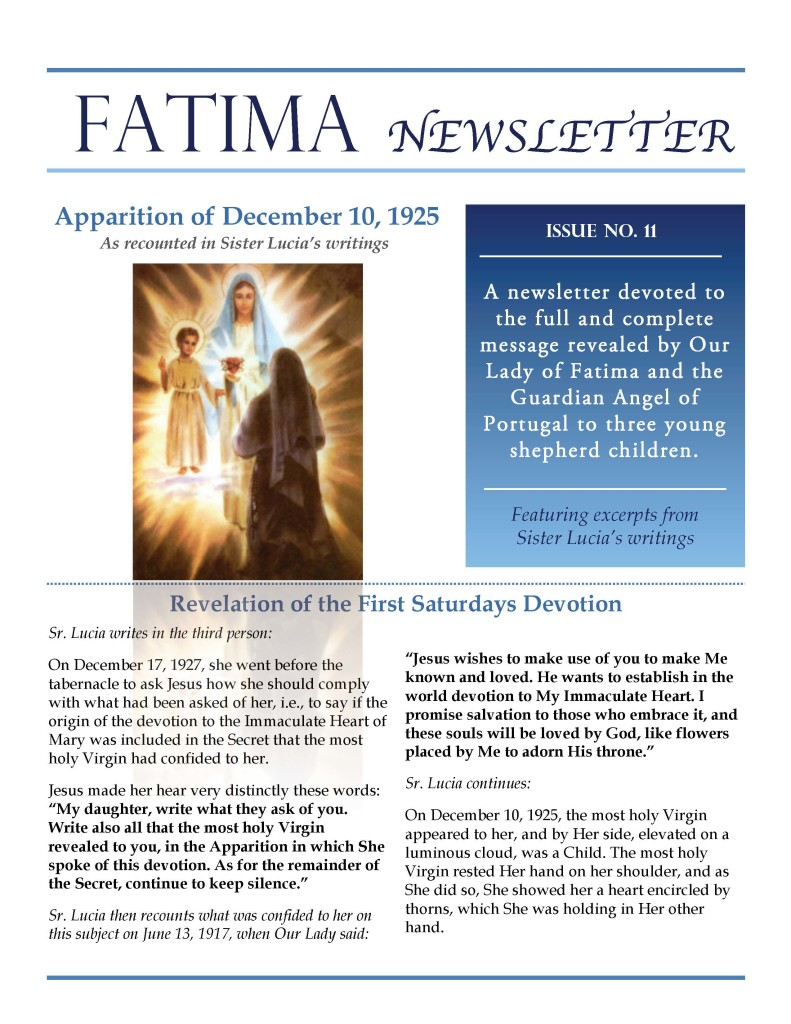 Fatima Newsletter_Issue 11_November 2019_Page_1