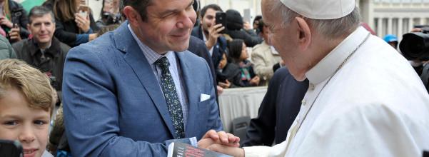 TM and Bergoglio